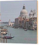 Venice The Beaufiful Wood Print