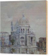 Venice Wood Print by Tigran Ghulyan