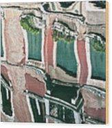 Venice Upside Down 3 Wood Print