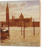 Venice Vi Wood Print