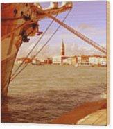 Venice Vii Wood Print
