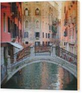 Venice Visions Wood Print