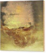 Ventana Al Mar Wood Print