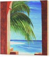 Ventana Al Paraiso Wood Print
