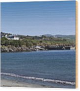 Ventry Beach And Harbor Ireland Wood Print