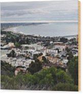 Ventura Coast Skyline Wood Print