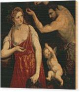 Venus And Mars Wood Print