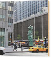 New York's Venus De Milo Wood Print