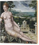 Venus Of Cythera Wood Print