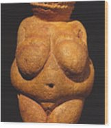 Venus Of Willendorf Wood Print
