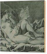 Venus Sleeping Wood Print