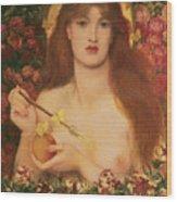Venus Verticordia Wood Print