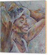Venus Williams - Portrait 1 Wood Print