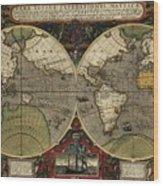 Vera Totius Expeditionis Nauticae Of 1595 Wood Print