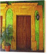 Veranda El Quilete Wood Print