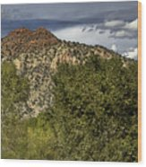Verde Canyon Wood Print