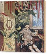 Verdi E Il Falstaff Wood Print