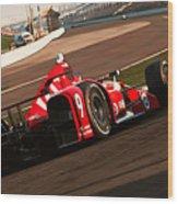 Verizon Indycar Series - 3 Wood Print