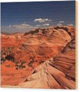 Vermilion Cliffs Rugged Landscape Wood Print