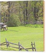 Vermont Buck Board Wood Print