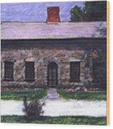Vermont House Wood Print