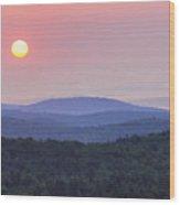 Vermont Sunrise Wood Print