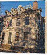 Vernon House Newport Rhode Island Wood Print