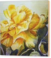 Vernon's Rose Wood Print