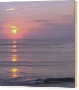 Vero - Beach -  Sunrise Wood Print