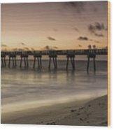 Vero Beach Sunrise Wood Print