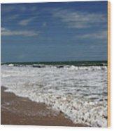 Vero Beach Surf Wood Print