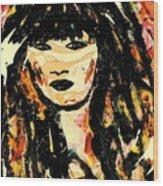 Veronica Wood Print