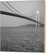 Verrazano Bridge 1 Wood Print