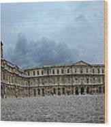Versailles Courtyard Wood Print