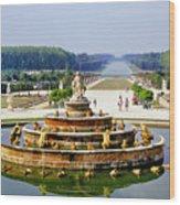 Versailles Garden Wood Print