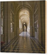 Versailles Passage Wood Print