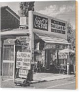 Guildford Wa. Deli And Lunch Bar  Wood Print