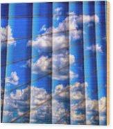 Vertical Sky Wood Print