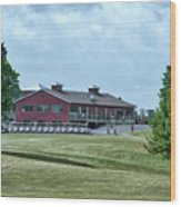 Vesper Hills Golf Club Tully New York 02 Wood Print