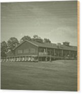 Vesper Hills Golf Club Tully New York Antique 01 Wood Print