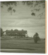 Vesper Hills Golf Club Tully New York Antique 02 Wood Print