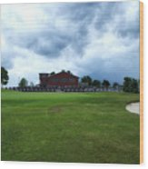 Vesper Hills Golf Club Tully New York Before The Storm Wood Print