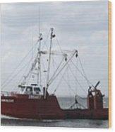 Vessel 59 Wood Print