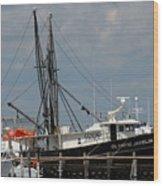 Vessel 63 Wood Print