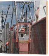 Vessel 66 Wood Print