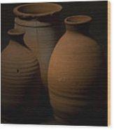 Vessels Wood Print