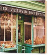 Vesuvio Bakery Wood Print
