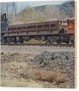 Vesuvius Train Wood Print