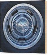Vette Wheel Wood Print