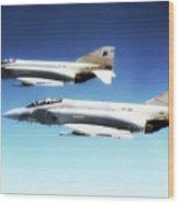 Vf-301 Phantoms Wood Print